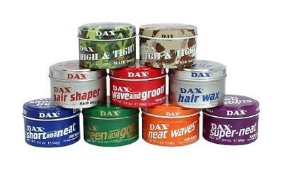 Dax hair wax all types full range in stock
