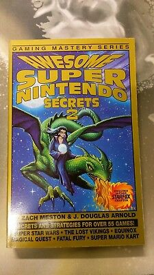 GAMING MASTERY: Awesome Super Nintendo Secrets 4 Misprint