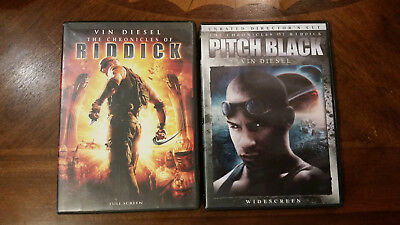 The Chronicles of Riddick & Pitch Black Movies