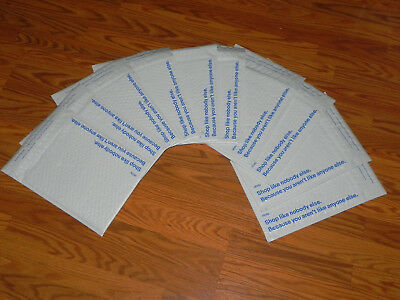 10 eBay Branded Airjacket Bubble Envelopes Padded Shipping Mailers 8.5 x 10.75