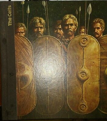 Time- Life Book The Emergence Of Man The Celts 1976 Used Vg