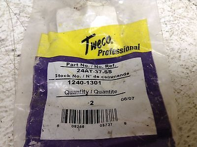 Tweco 24AT-37-SS Nozzle 24AT37SS Pack of 2 New (TB)