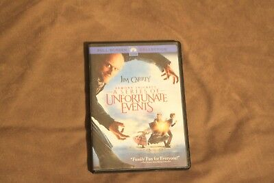 Lemony Snickets A Series of Unfortunate Events (DVD, 2005 Full Screen Collection