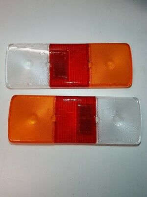 2x **NARVA** TAIL LIGHT LENS 86715, 86715BL suit 86710