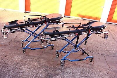 2 Ferno ProflexX 35X 700lb Ambulance Stretcher Gurney Cot Stryker MX-Pro Power