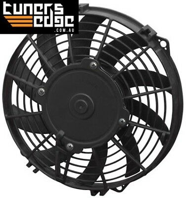 """Spal 9"""" Electric Thermo Fan 602 cfm - Puller Type With Curved Blades SPEF3526"""