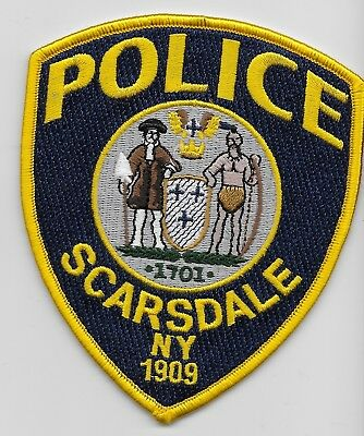 Scarsdale Police State new York Ny Shoulder patch