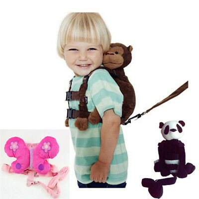 Stun Baby Kids Toddler Keeper Walking Safety Harness Backpack Leash Strap Bag