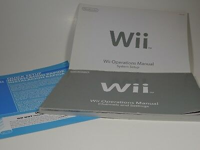 Nintendo wii owners manual just dance 2018 nintendo wii array new nintendo wii u system console oem user operations manual quick rh picclick com fandeluxe Gallery