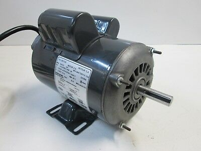 Sears Craftsman Table Saw Electric Motor 1.5 HP 3 HP Max 3450 RPM 120/240 Volt