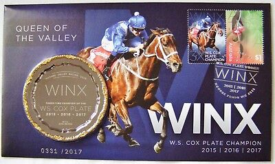 PNC Silver Overprint WINX Queen of the Valley Medallion Ltd Edition  331/2017