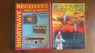 Receiver's past and present/passport to world band radio/scanner fanatics books.