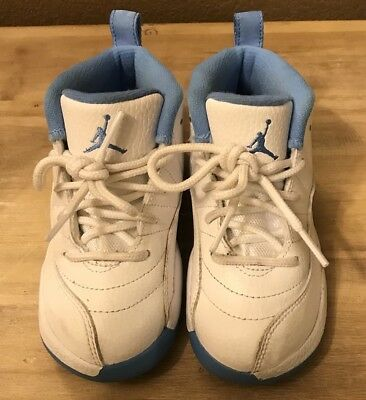 ca9a47e8e666 Nike Air Jordan 12 XII Retro University Blue White Baby GT TD 819666-127 9c