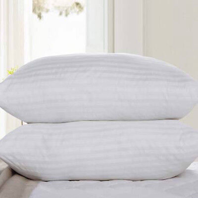 New Comfy Fluffy Bed White High Density Pillow & Elastic Memory Foam Pillow