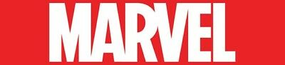 Marvel Sticker Red Decal 1.5 x 3.5 inch New