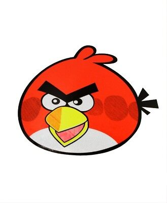 Angry Birds Sticker Red Decal 2.5 x 2 inch New
