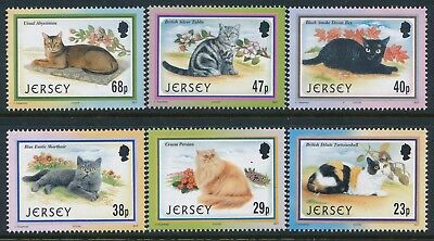 2002 Jersey Cats Set Of 6 Fine Mint