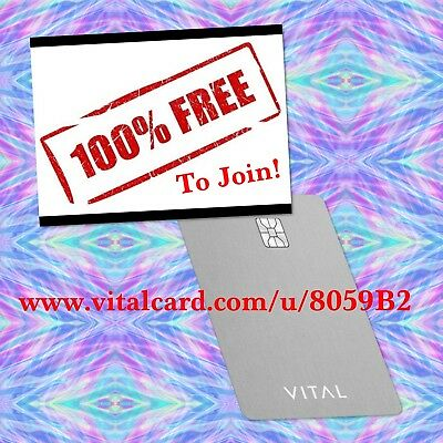 Free To Join Vitalcard Please Read