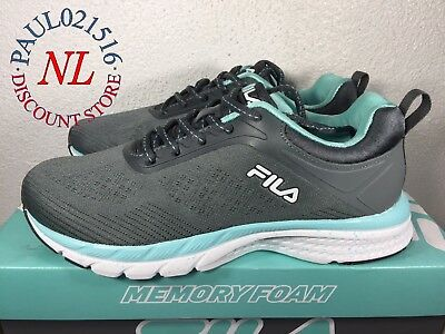 c670afb3cc30 FILA Memory Outreach Women s Sneaker Gray Memory Foam Shoes ~ Various Sizes  !