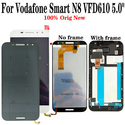 "OEM For Vodafone Smart N8 VFD610 5.0"" LCD Display Touch Screen Digitizer + Frame"