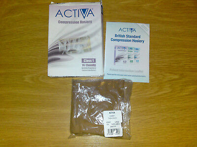 ACTIVA compression hosiery,thigh lenght,honey,size L,14-17mmHg