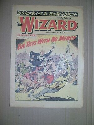 Wizard issue 1849 dated July 22 1961