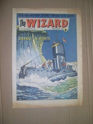Wizard issue 1956 dated August 10 1963