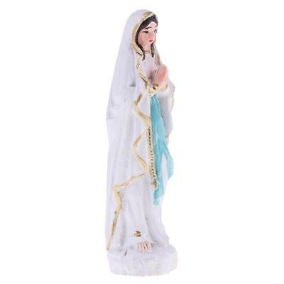 Virgin Mary Model Miniature Blessed Mother Statue for House Car Office Yard