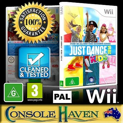 (Wii Game) Just Dance Kids 2014 (G) (Music & Dance) PAL, Guaranteed, Cleaned