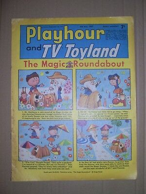 Playhour and TV Toyland issue dated May 6 1967