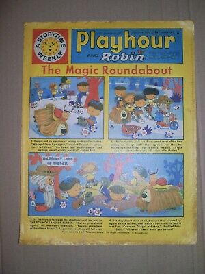 Playhour and Robin issue dated June 20 1970