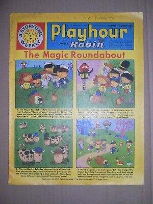 Playhour and Robin issue dated September 5 1970