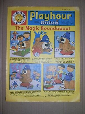 Playhour and Robin issue dated September 12 1970