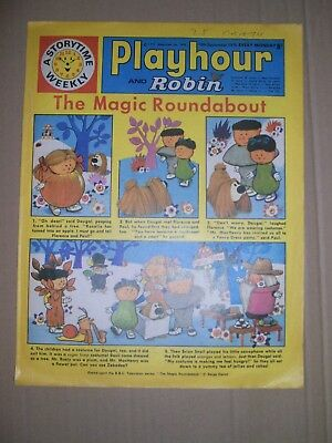 Playhour and Robin issue dated September 19 1970