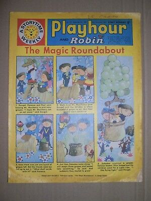 Playhour and Robin issue dated September 26 1970