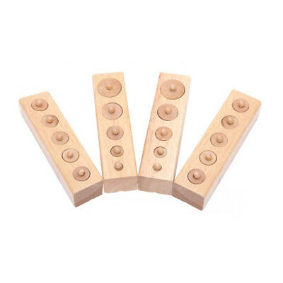 Montessori Educational wooden toy cylinder socket SS