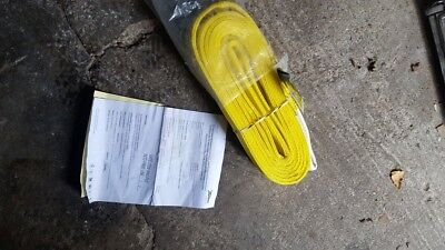 LIFT SAFE Round LIFTING SLING STRAP WLL: 3 Ton / 3000KG 3T x 6M + TAG Cert