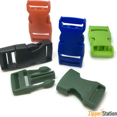 Plastic Side Release Buckles - Webbing, Bag Straps, Clips 20 mm - KZ20