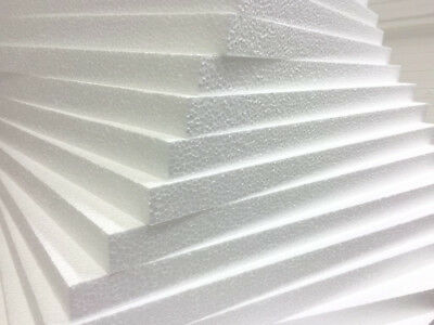 White Polystyrene Board (EPS) for External Wall Insulation 30mm