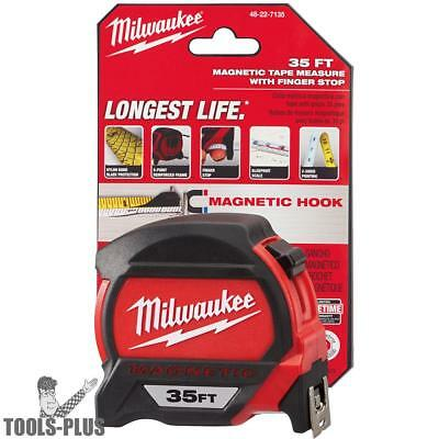 Milwaukee 48-22-7135 35' Magnetic Tape Measure New