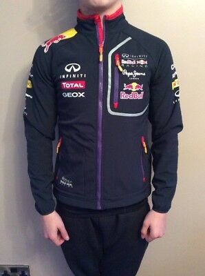 Ladies/Mens Red Bull Formal F1 Racing Soft Shell Jacket Small  Pepe Jeans