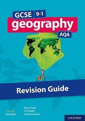 GCSE 9-1 Geography AQA Revision Guide by Tim Bayliss New Paperback Book