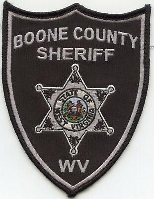 BOONE COUNTY WEST VIRGINIA WV subdued SHERIFF POLICE PATCH