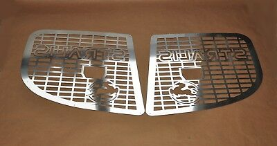 IVECO Stralis Headlight Protector Super Polished Stainless Steel 2 Pcs