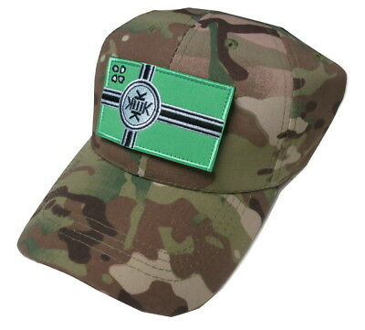 Kek Flag Kekistan Embroidered Patch Tactical Baseball Hat Cap Green Camo