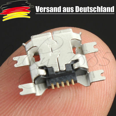 10x Micro USB Buchse 5 Pin Anschluss Ladebuchse Handy Tablet Connector L0051