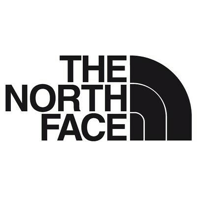 The North Face Sticker Black Decal 2 x 3.5 inch New