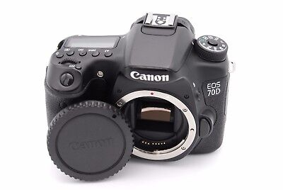 Mint Canon EOS 70D 20.2MP Digital SLR Camera (Body Only) - Shutter Count:916