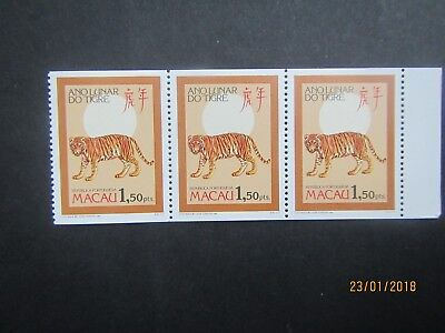 MACAU 1986 Year of the Tiger stamps MNH see photo