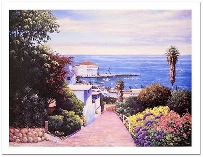 Dan L. Johnson Catalina Vista! Untitled LED Numbered Hand/Signed Giclee. New